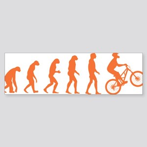 Evolution Biking Sticker (Bumper)