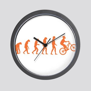 Evolution Biking Wall Clock