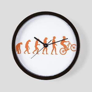 Evolution Biking Wall Clock