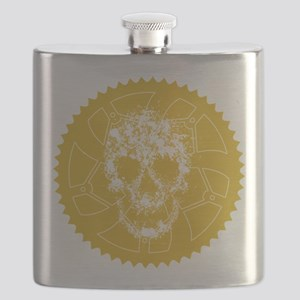 Chainring skull Flask