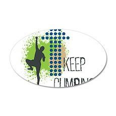 Keep climbing Wall Decal