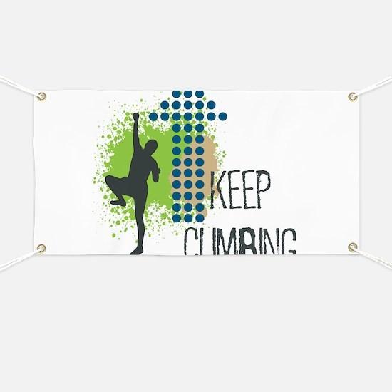Keep climbing Banner