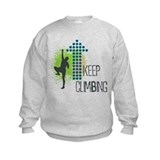 Rock climbing born to climb Crew Neck