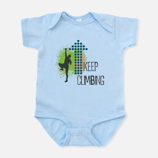 Keep climbing Infant Bodysuit