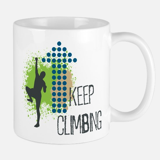 Keep climbing Mug
