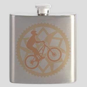 Biker chainring Flask