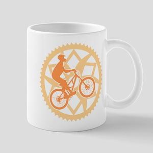 Biker chainring Mug