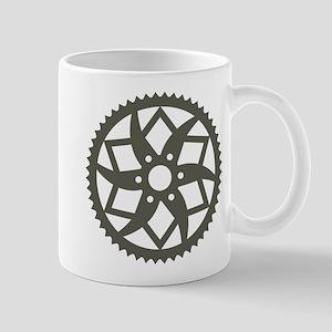 Bike chainring Mug
