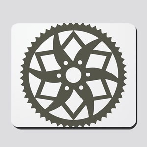 Bike chainring Mousepad