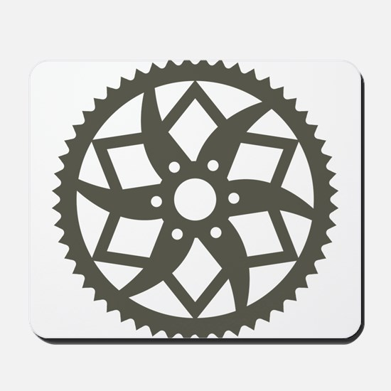 Bike chainring Mousepad