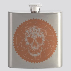 Chainring skull Flask