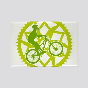 Biker chainring Rectangle Magnet