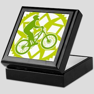 Biker chainring Keepsake Box