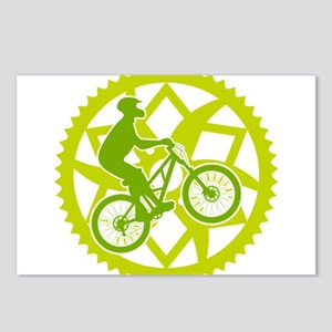 Biker chainring Postcards (Package of 8)