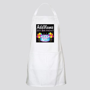 21 YR OLD PARTY Apron