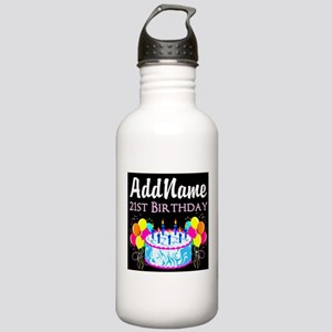 21 YR OLD PARTY Stainless Water Bottle 1.0L