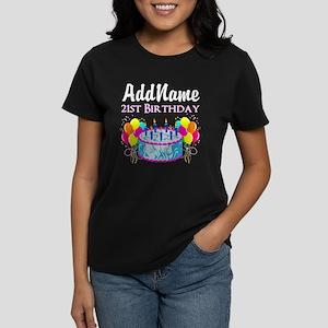 21 YR OLD PARTY Women's Dark T-Shirt