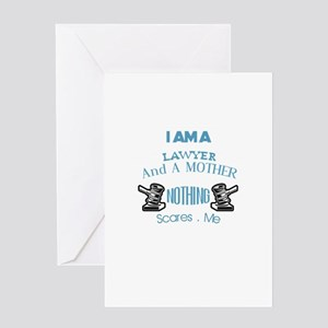Mom Lawyer Design Greeting Cards