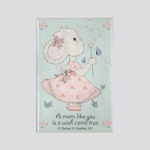 Mom Wish Come True Rectangle Magnet