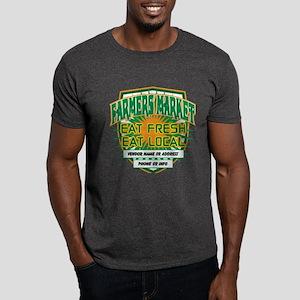 Personalized Farmers Market Dark T-Shirt