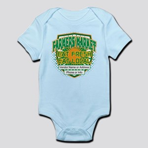 Personalized Farmers Market Infant Bodysuit