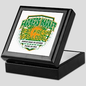 Personalized Farmers Market Keepsake Box