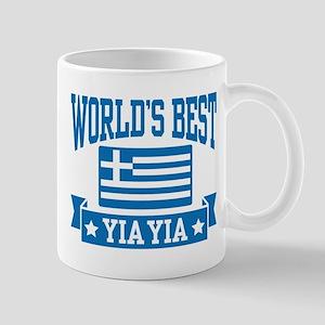World's Best Yia Yia 11 oz Ceramic Mug