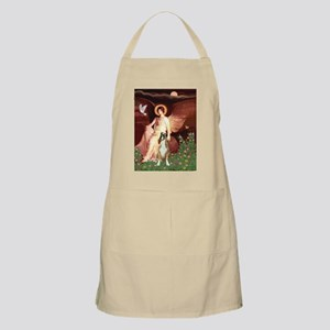 Seated Angel & Boxer Apron