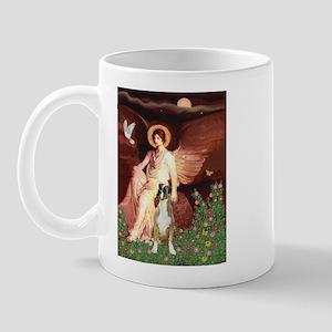 Seated Angel & Boxer Mug