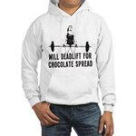 Will deadlift for chocolate... Jumper Hoody