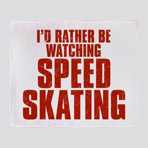I'd Rather Be Watching Speed Skating Stadium Blank