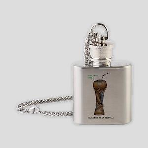 Argentina en la Copa del Mundo 2014 Flask Necklace