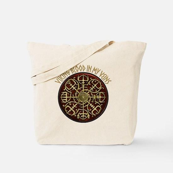 Nordic Guidance - Viking Blood Tote Bag