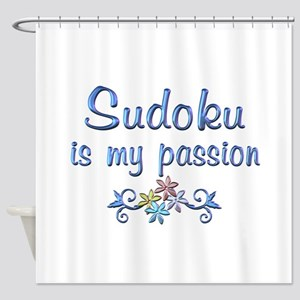 Sudoku Passion Shower Curtain