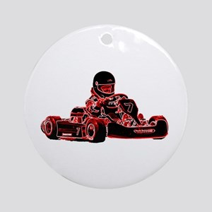 RED RACER Ornament (Round)