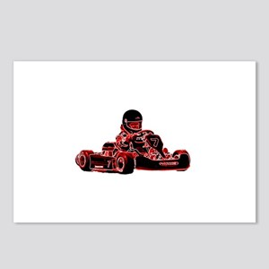 RED RACER Postcards (Package of 8)