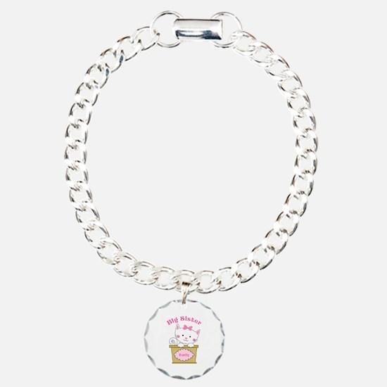 Personalized Kitty Big Sister Bracelet