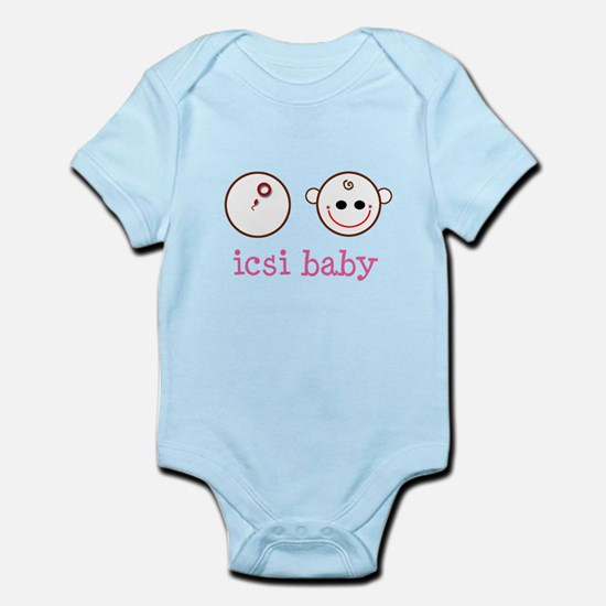 ICSI baby face & dish Infant Bodysuit