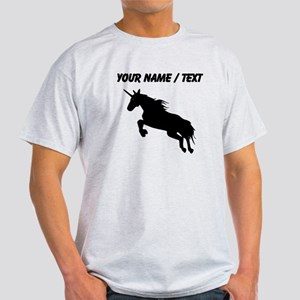 Custom Unicorn Silhouette T-Shirt
