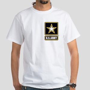 U.S. Army Star Logo White T-Shirt