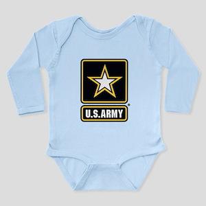 U.S. Army Star Logo Long Sleeve Infant Bodysuit