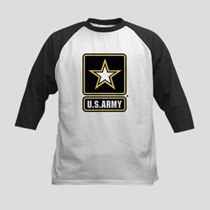 U.S. Army Star Logo Kids Baseball Jersey