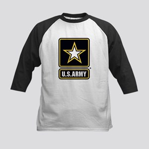 U.S. Army Star Logo Kids Baseball Jersey