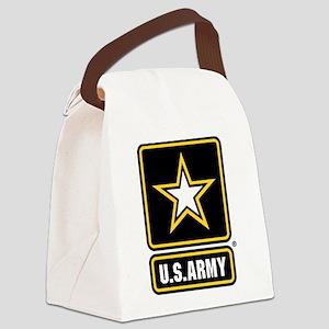 U.S. Army Star Logo Canvas Lunch Bag