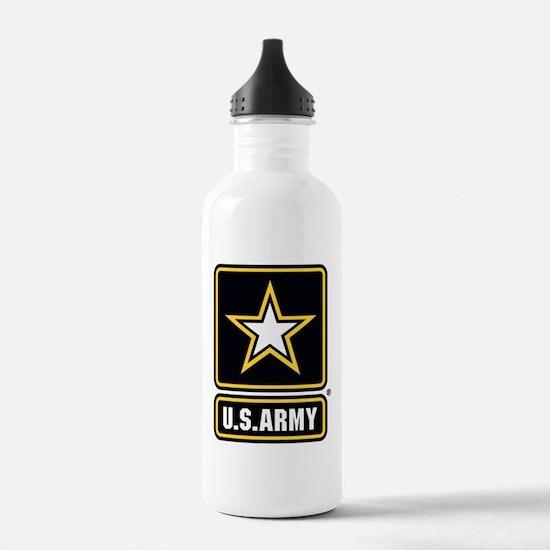 U.S. Army Star Logo Water Bottle