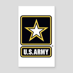 U.S. Army Star Logo Rectangle Car Magnet