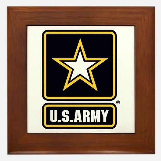 U.S. Army Star Logo Framed Tile