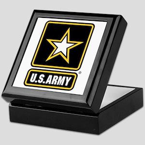 U.S. Army Star Logo Keepsake Box