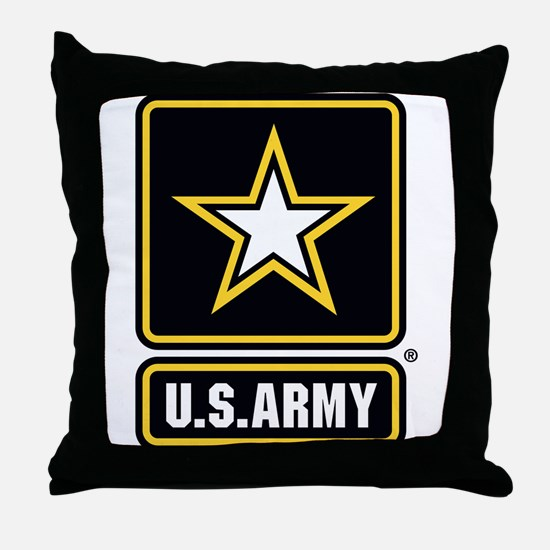 U.S. Army Star Logo Throw Pillow