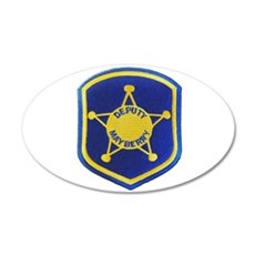 Mayberry Deputy Sheriff Wall Decal